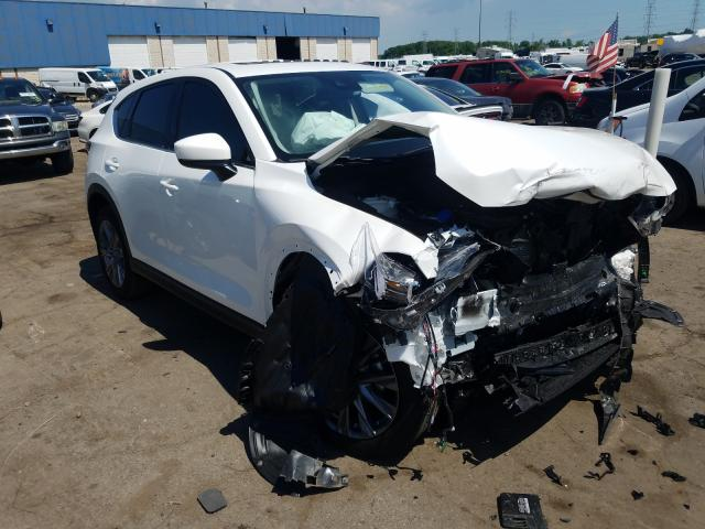 Mazda CX-5 Grand Touring salvage cars for sale: 2020 Mazda CX-5 Grand Touring