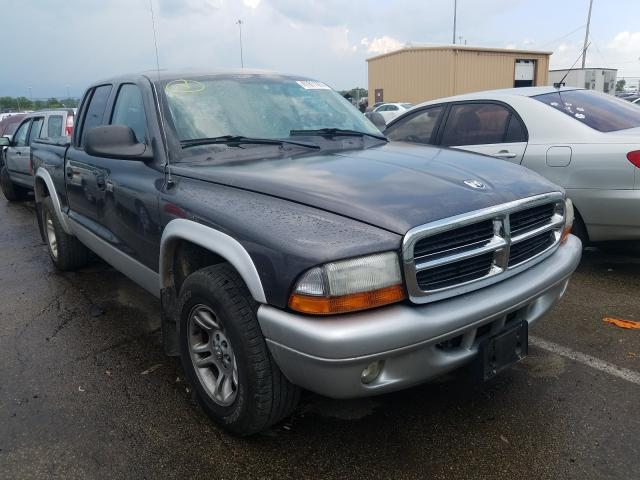 Dodge Dakota Quattro salvage cars for sale: 2004 Dodge Dakota Quattro