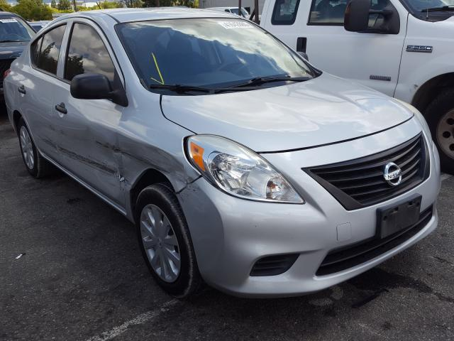 Nissan Versa salvage cars for sale: 2014 Nissan Versa