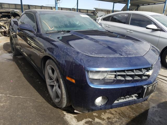 Salvage cars for sale from Copart Anthony, TX: 2011 Chevrolet Camaro LT