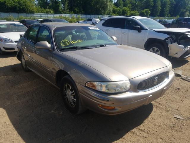 Salvage cars for sale from Copart Davison, MI: 2002 Buick Lesabre CU