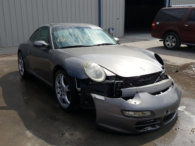 Porsche salvage cars for sale: 2007 Porsche 911 New GE
