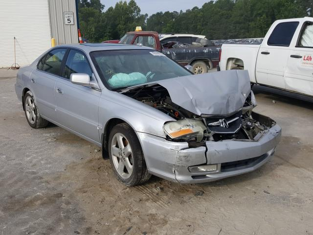 Salvage cars for sale from Copart Dunn, NC: 2002 Acura 3.2TL Type