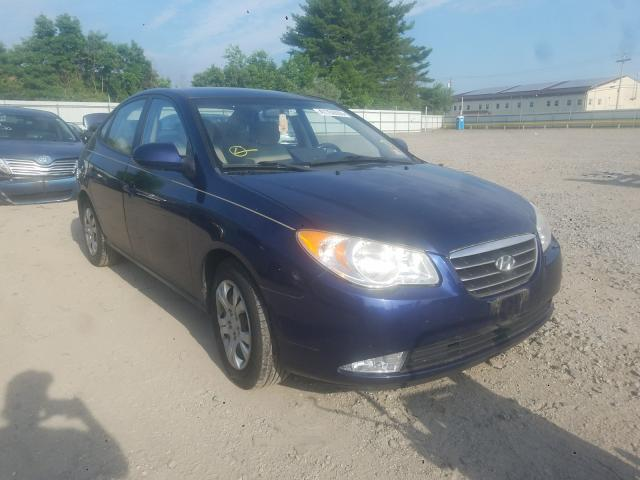 Salvage cars for sale from Copart Glassboro, NJ: 2009 Hyundai Elantra GL