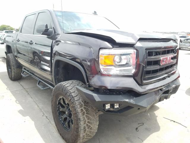 Salvage cars for sale from Copart Grand Prairie, TX: 2015 GMC Sierra K15
