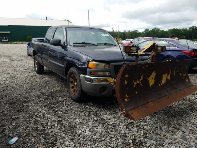 Salvage cars for sale from Copart Candia, NH: 2006 GMC New Sierra