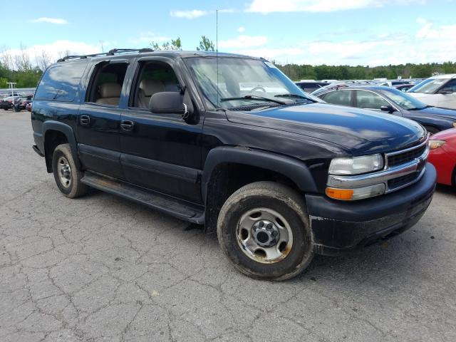 Chevrolet salvage cars for sale: 2001 Chevrolet Suburban K