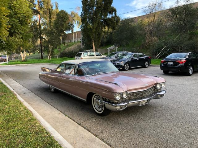 Salvage cars for sale from Copart Wilmington, CA: 1960 Cadillac Eldorado S
