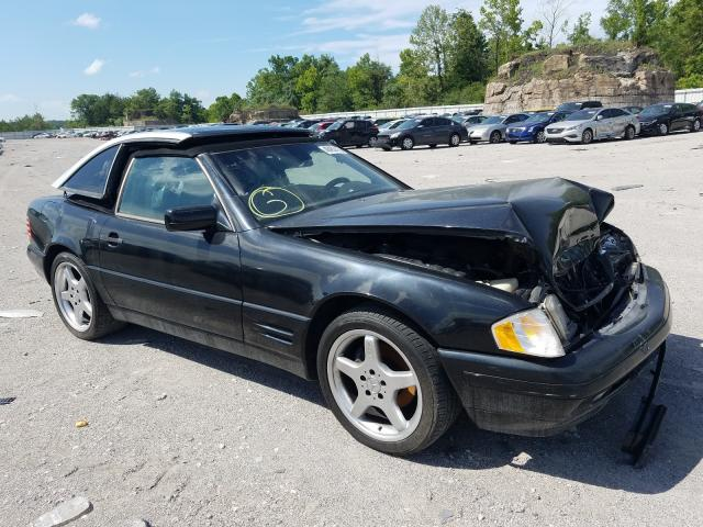 Mercedes-Benz salvage cars for sale: 1997 Mercedes-Benz SL 320