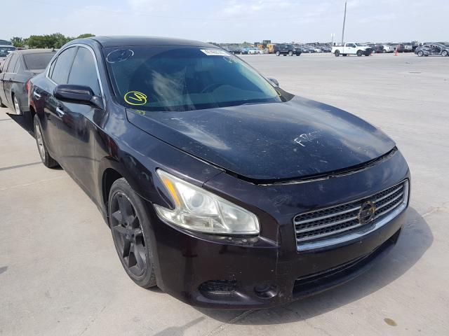 Salvage cars for sale from Copart Grand Prairie, TX: 2010 Nissan Maxima S