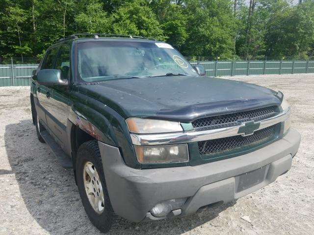 Salvage cars for sale from Copart Candia, NH: 2003 Chevrolet Avalanche