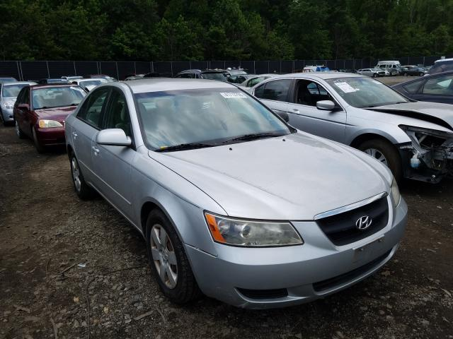 Salvage cars for sale from Copart Waldorf, MD: 2007 Hyundai Sonata GLS