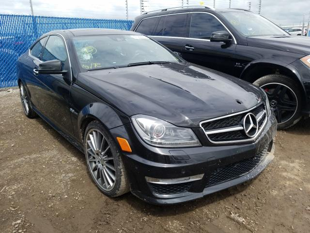 Mercedes-Benz salvage cars for sale: 2012 Mercedes-Benz C 63 AMG