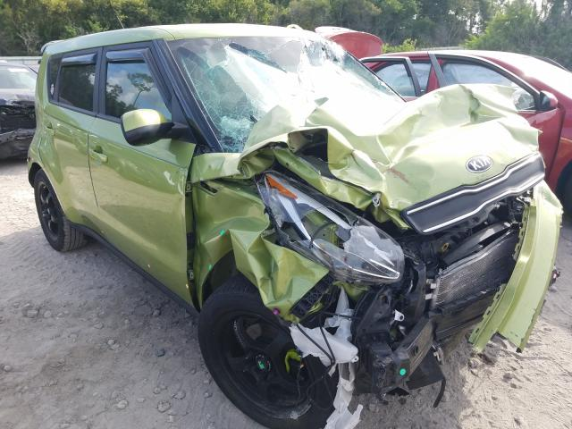 Salvage cars for sale from Copart Riverview, FL: 2017 KIA Soul