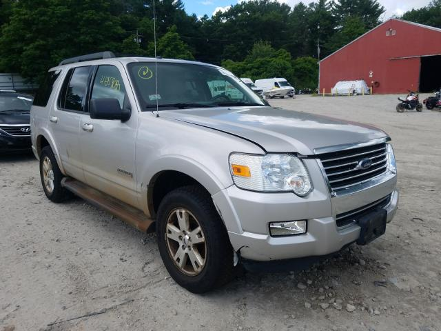 Salvage cars for sale from Copart Mendon, MA: 2008 Ford Explorer X
