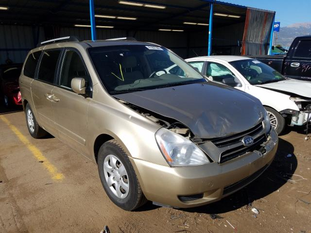 Salvage cars for sale from Copart Colorado Springs, CO: 2007 KIA Sedona EX