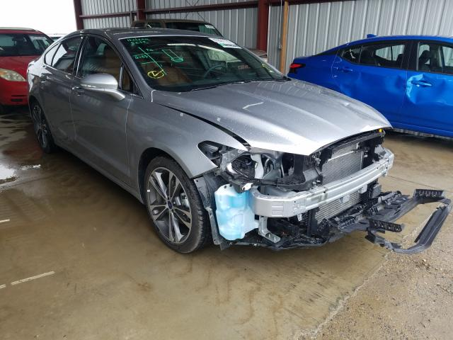 Ford Fusion Titanium salvage cars for sale: 2020 Ford Fusion Titanium