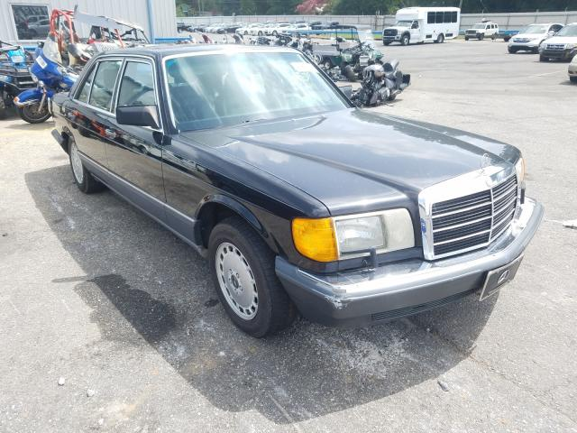 Mercedes-Benz salvage cars for sale: 1991 Mercedes-Benz 560 SEL