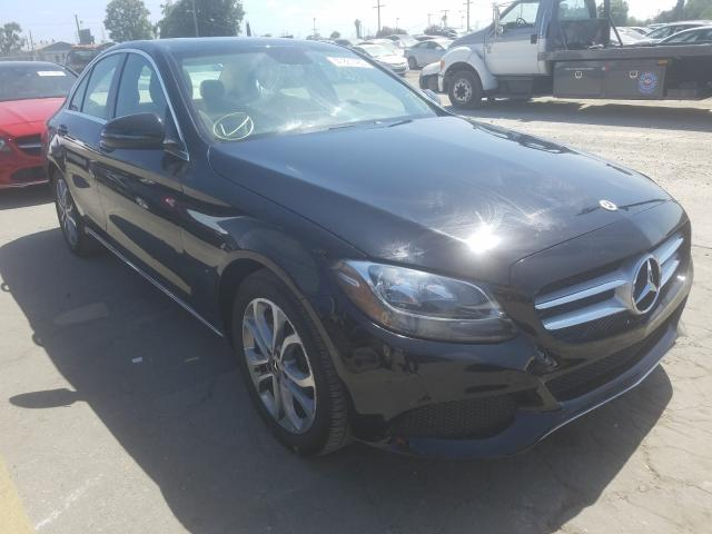 Mercedes-Benz C300 salvage cars for sale: 2018 Mercedes-Benz C300