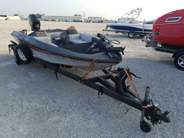 Salvage cars for sale from Copart Haslet, TX: 1988 Basstracker Boat