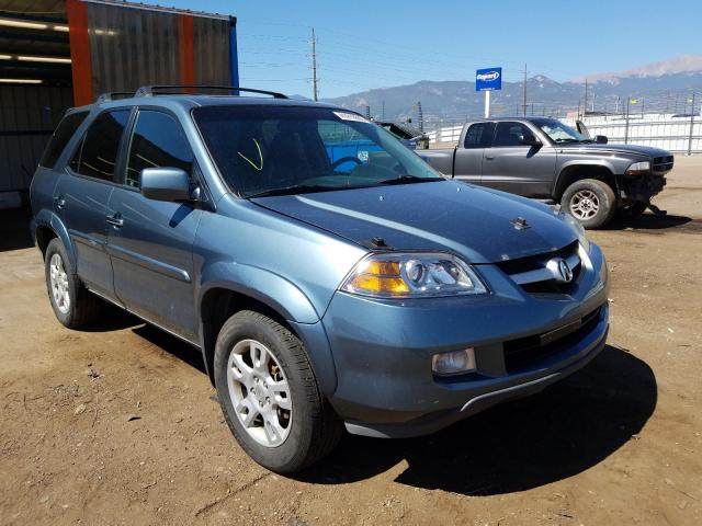 Acura salvage cars for sale: 2006 Acura MDX Touring