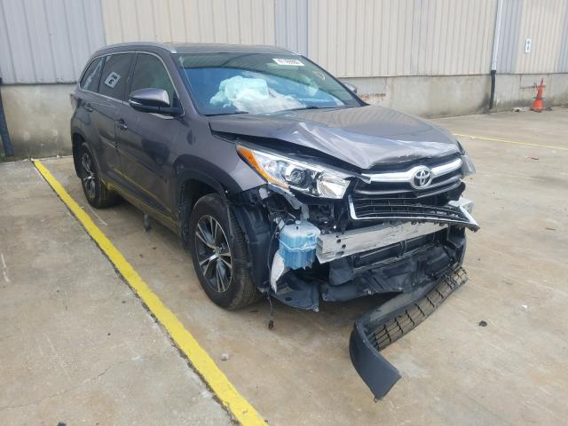 Salvage cars for sale at Lawrenceburg, KY auction: 2016 Toyota Highlander