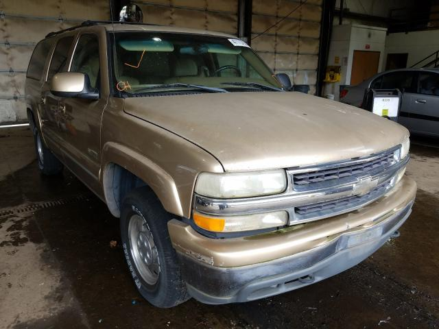 Salvage cars for sale from Copart Graham, WA: 2000 Chevrolet Suburban K