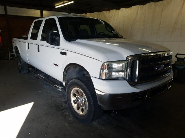 Salvage cars for sale from Copart Ebensburg, PA: 2007 Ford F350 SRW S