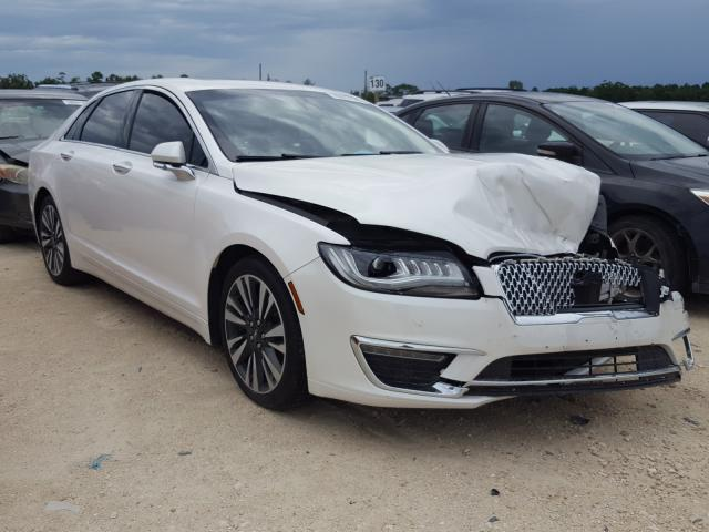 Lincoln Vehiculos salvage en venta: 2017 Lincoln MKZ Select