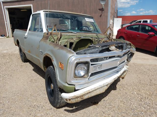 Chevrolet C-10 salvage cars for sale: 1969 Chevrolet C-10