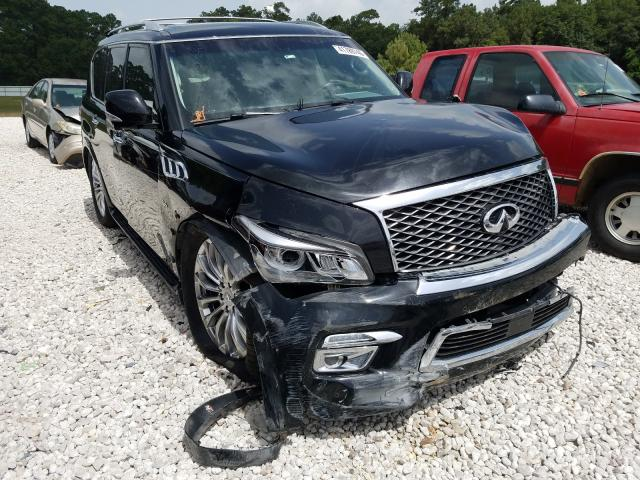 Infiniti QX80 salvage cars for sale: 2015 Infiniti QX80