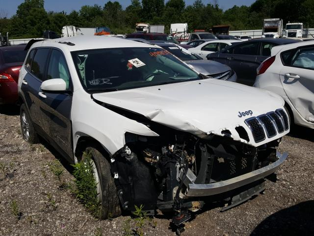 Salvage cars for sale from Copart Columbia Station, OH: 2019 Jeep Cherokee L