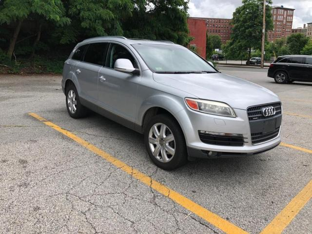 Salvage cars for sale from Copart North Billerica, MA: 2007 Audi Q7 3.6 Quattro