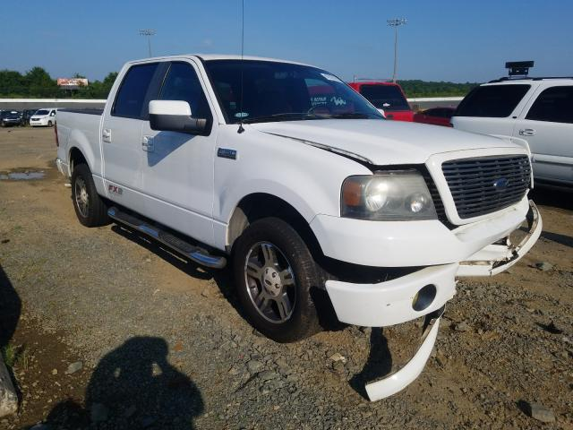Salvage cars for sale from Copart Concord, NC: 2007 Ford F150 Super