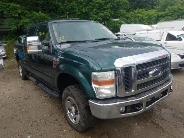 Salvage cars for sale from Copart Mendon, MA: 2008 Ford F250 Super