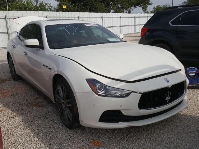 Maserati salvage cars for sale: 2017 Maserati Ghibli