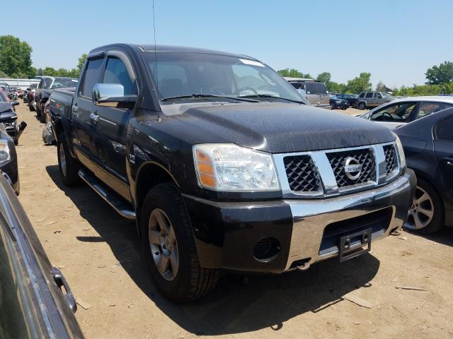 Salvage cars for sale from Copart Columbia Station, OH: 2004 Nissan Titan XE