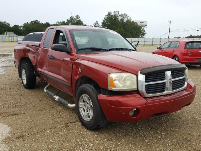 Salvage cars for sale from Copart Newton, AL: 2006 Dodge Dakota SLT