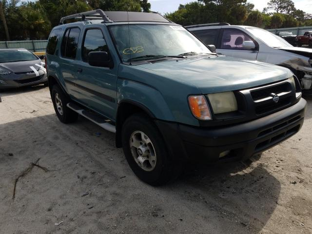 Salvage cars for sale from Copart Fort Pierce, FL: 2001 Nissan Xterra XE
