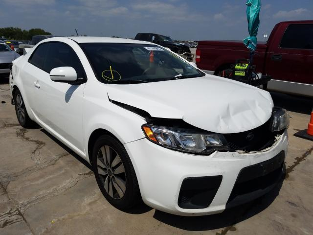 KIA Forte EX salvage cars for sale: 2013 KIA Forte EX