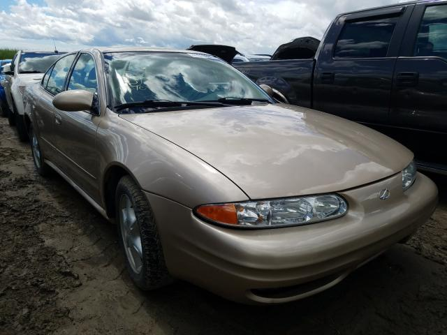 Salvage cars for sale from Copart Rocky View County, AB: 2002 Oldsmobile Alero GL