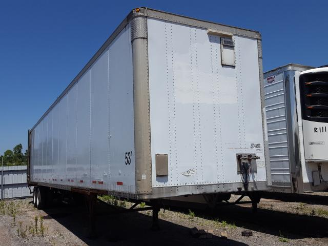 Wabash 53 Trailer salvage cars for sale: 2001 Wabash 53 Trailer