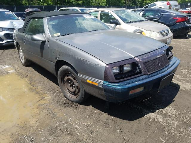 Salvage cars for sale from Copart Waldorf, MD: 1992 Chrysler Lebaron