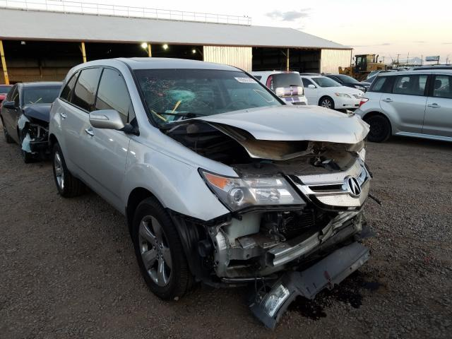 Acura MDX Sport salvage cars for sale: 2007 Acura MDX Sport
