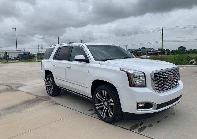 GMC Yukon Dena salvage cars for sale: 2019 GMC Yukon Dena