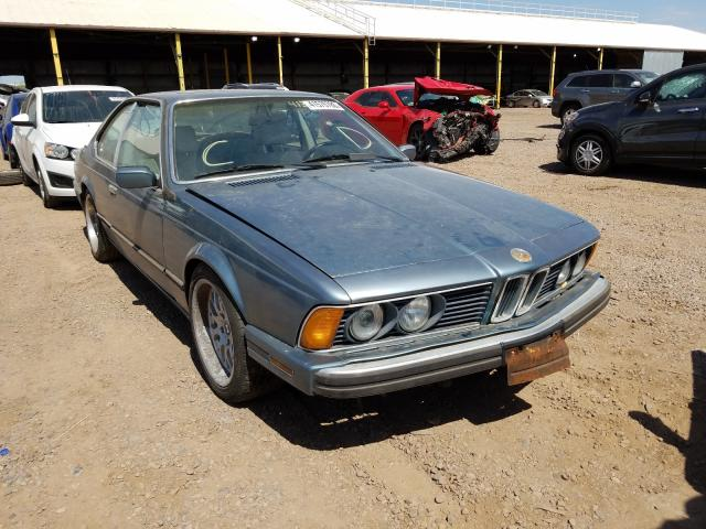 BMW salvage cars for sale: 1988 BMW 635 CSI