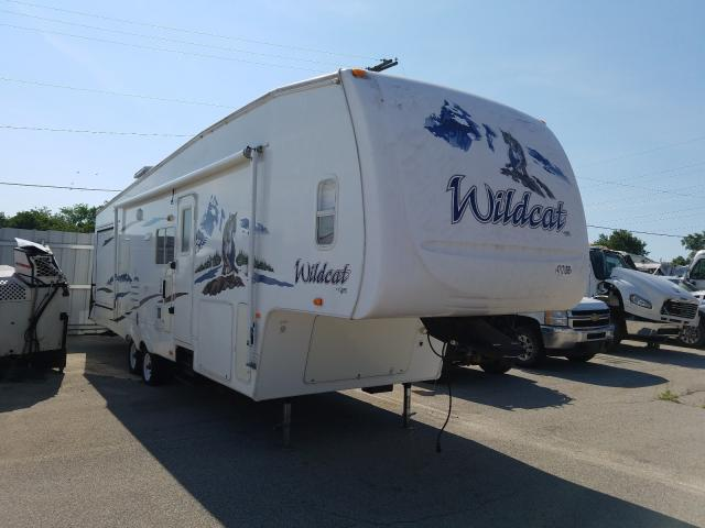 Wildcat salvage cars for sale: 2007 Wildcat Travel Trailer