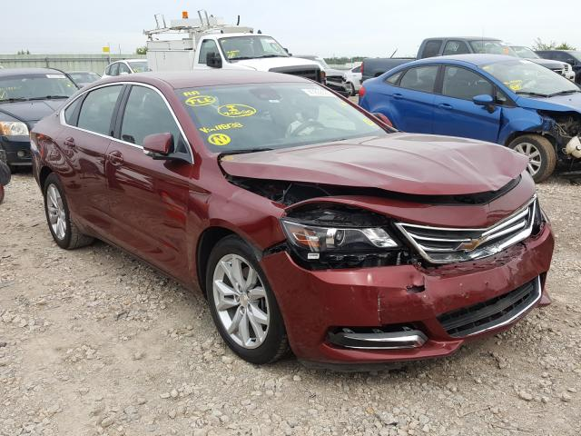 Vehiculos salvage en venta de Copart Kansas City, KS: 2017 Chevrolet Impala LT