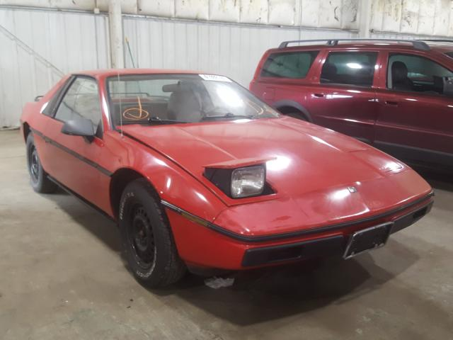 Pontiac Fiero salvage cars for sale: 1986 Pontiac Fiero