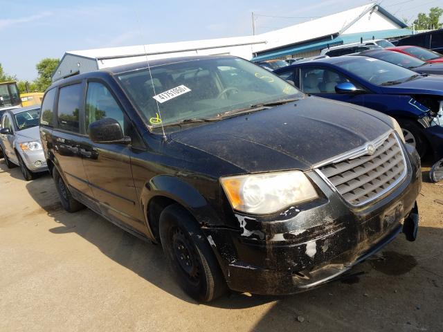 Salvage cars for sale from Copart Pekin, IL: 2008 Chrysler Town & Country